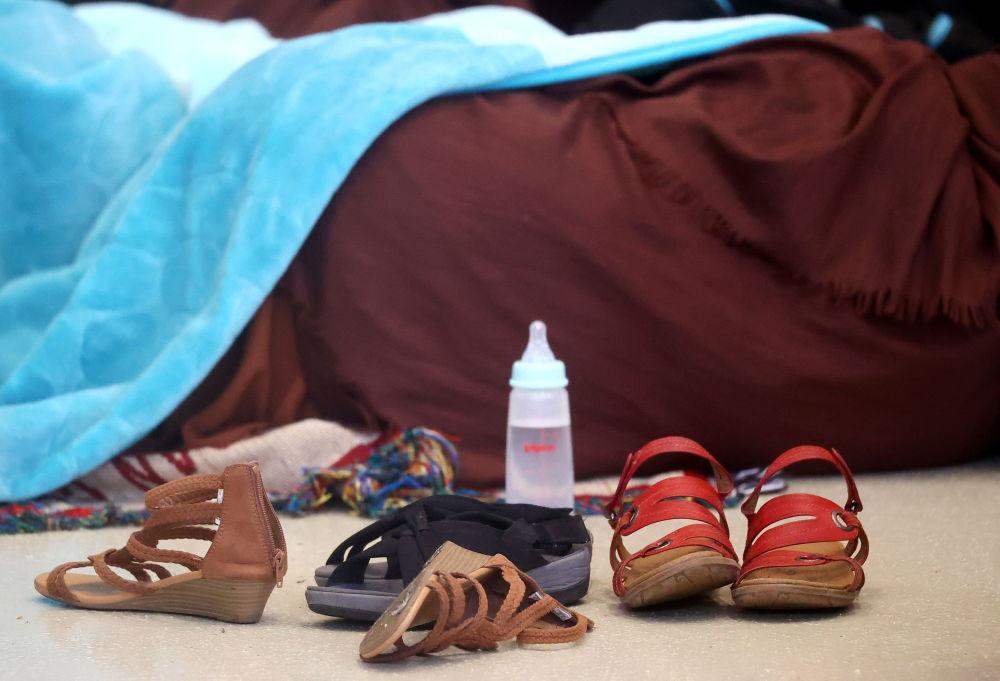 زندگی پناهجویان افغان در اردوگاه در پایگاه هواییرامشتاین آمریکا در آلمان