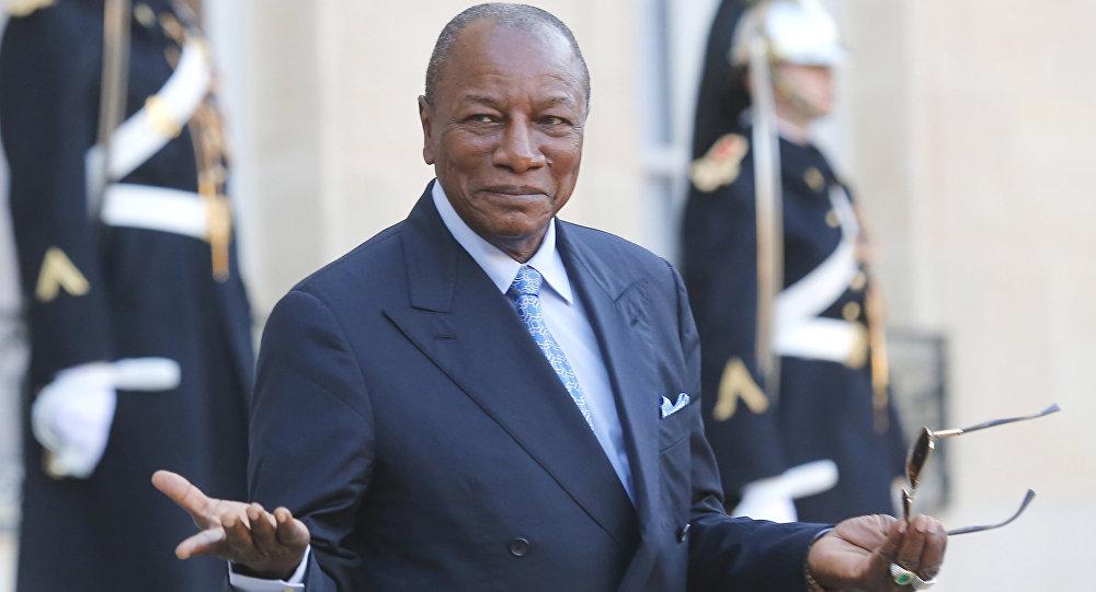 رئیس جمهور برکنار شده گینه کجاست؟