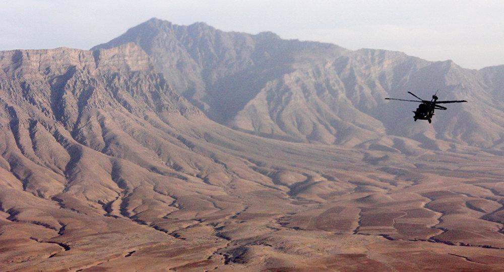 حمله موشکی به پایگاه نیروی هوایی آمریکا در افغانستان