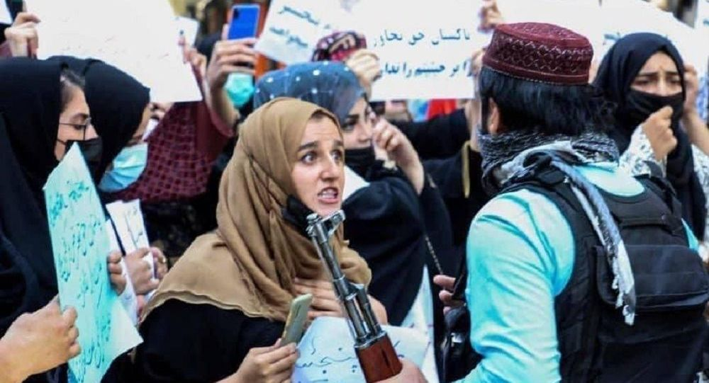 وزارت داخلۀ طالبان: راهاندازی هرگونه تظاهرات فعلاً ممنوع است