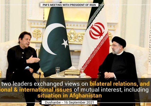 رئیسی در دیدار با عمران خان: در افغانستان حکومتی برخاسته از اراده آحاد مردم باید شکل بگیرد