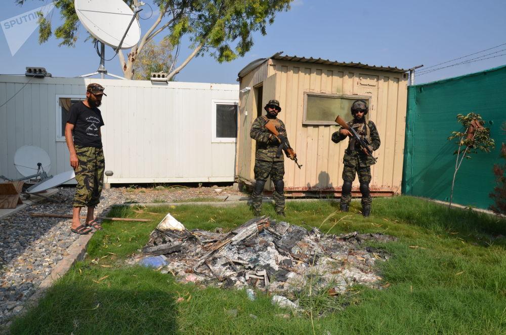 بزرگترین پایگاه نظامی آمریکا در ولایت خوست افغانستان در دست طالبان است.
