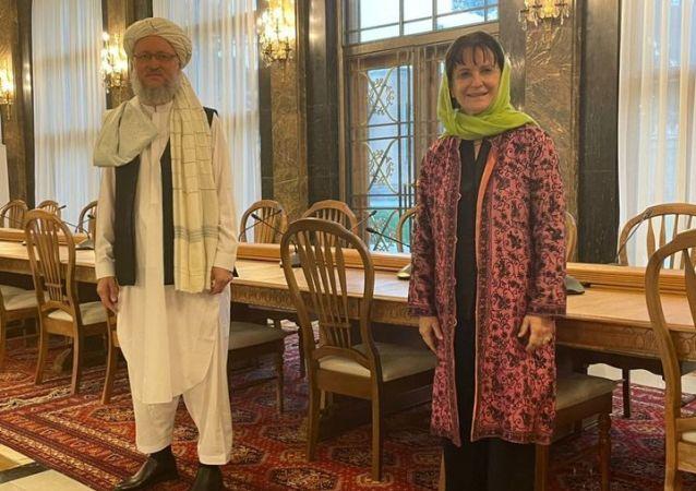 دیدار نماینده ای ویژه سازمان ملل با عبدالسلام حنفی