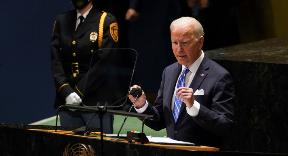 اشتباه عجیب بایدن در سخنرانی او در سازمان ملل
