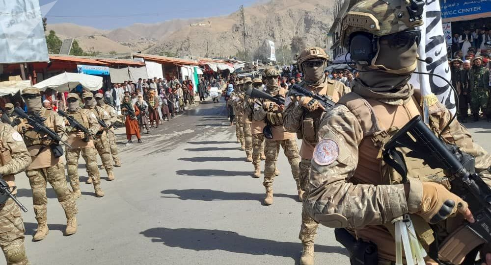 درگیری میان نیروهای طالبان و جنگجویان داعش در شهر کابل
