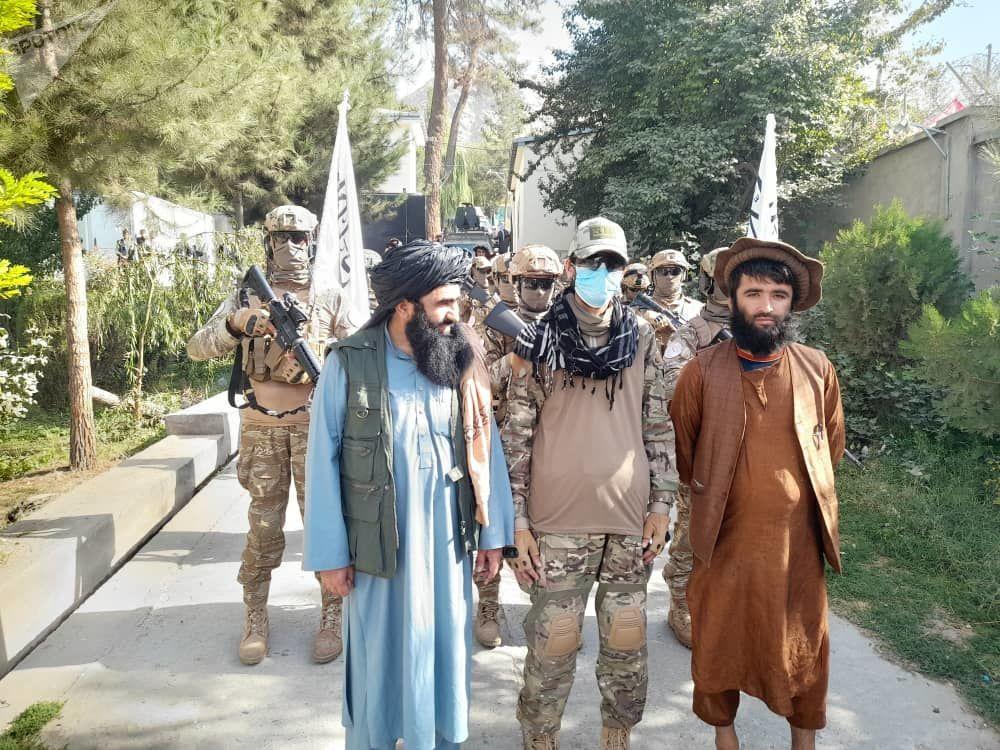 رژه نظامی قطعه «منصوری» طالبان در بدخشان
