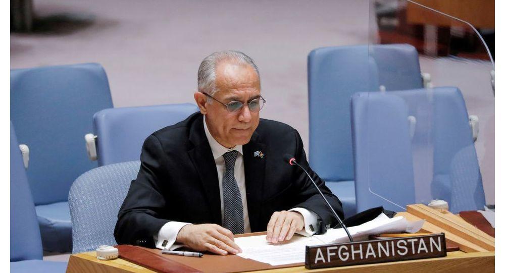 غلاممحمد اسحقزی، نماینده دولت اشرف غنی در سازمان ملل