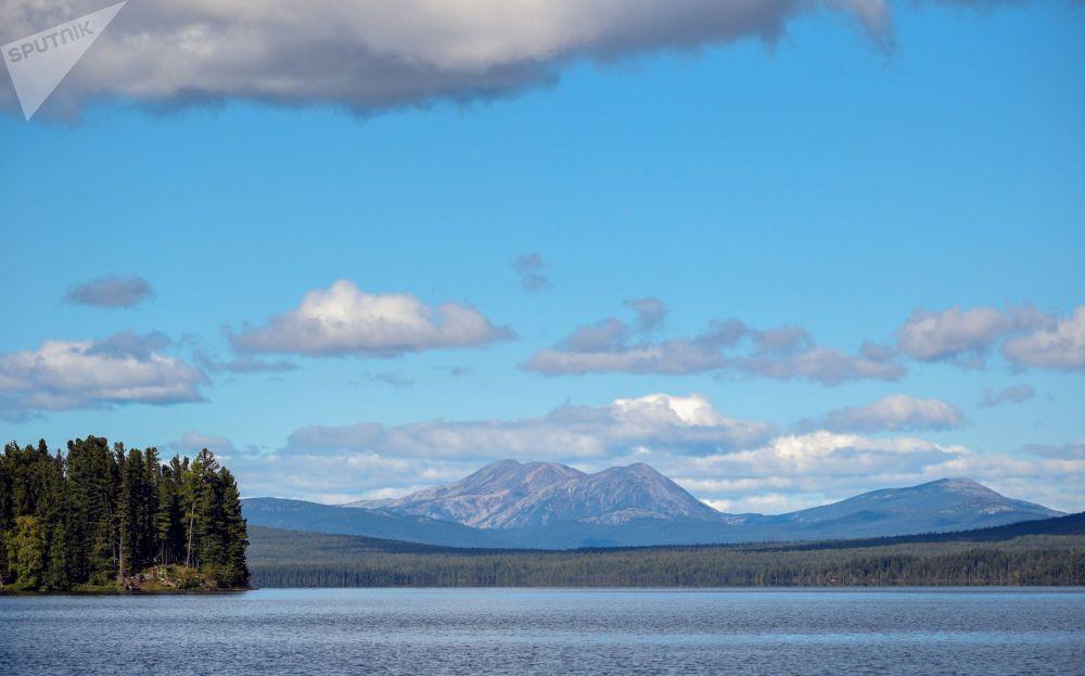 مناظر زیبای سیبریای روسیه.