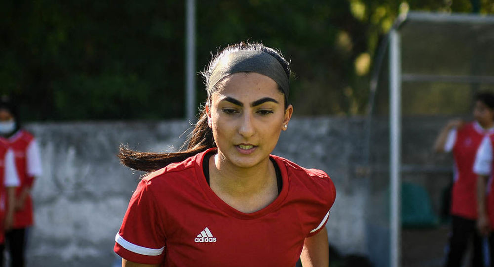 فرخنده محتاج کاپیتان تیم فوتبال زنان افغانستان