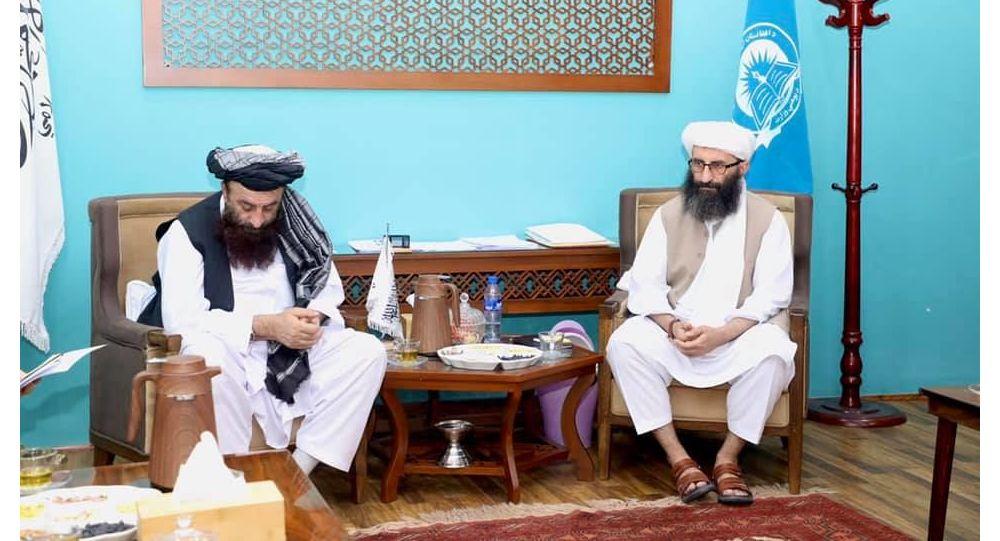 دیدار وزیر معارف طالبان با سفیر ترکیه در کابل