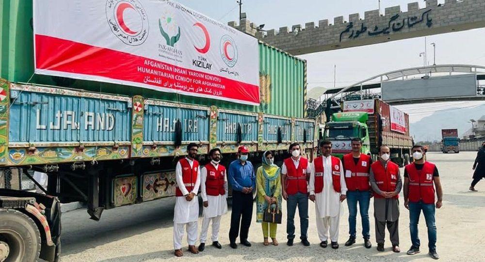 محمولههای تازه کمکهای بشردوستانه به افغانستان رسید