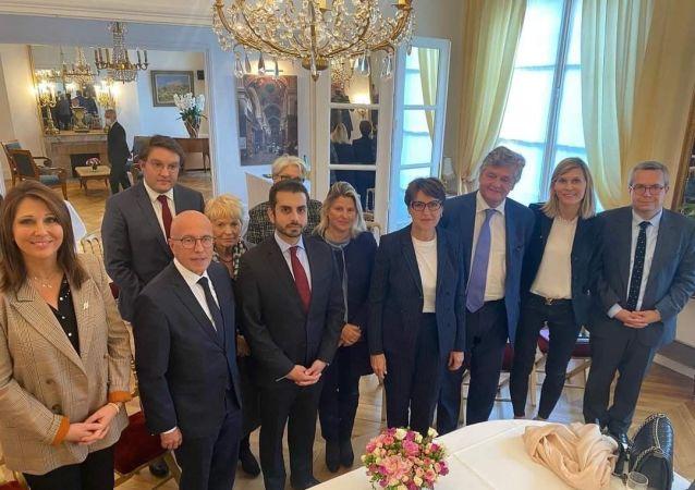 دیدار نماینده جبهه مقاومت ملی با معاون پارلمان فرانسه