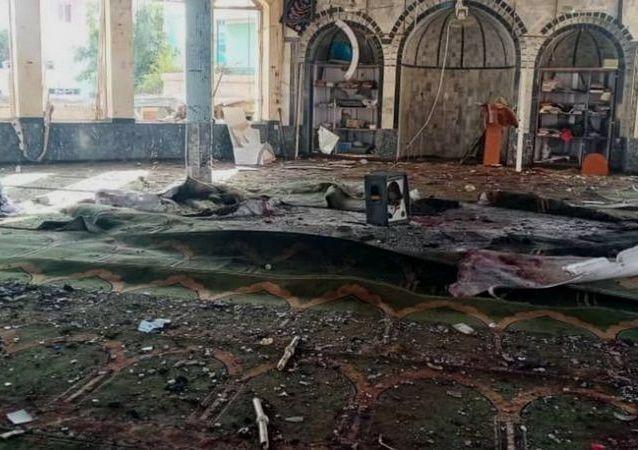 شهدای حمله انتحاری قندز به گونه دستهجمعی به خاک سپرده شدند