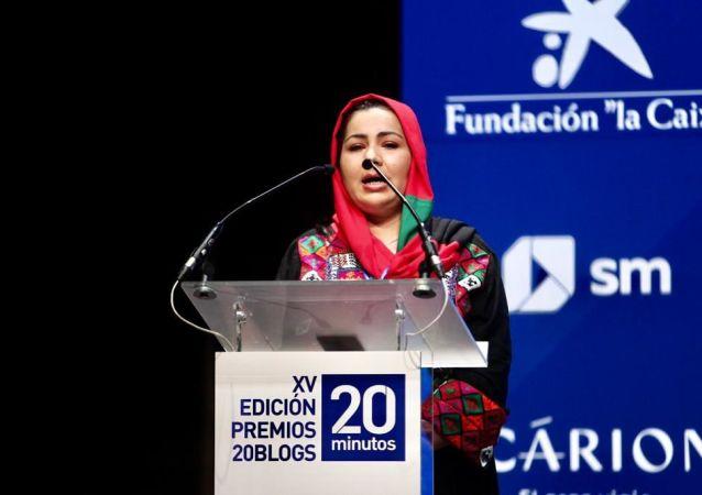 یک خبرنگار تلویزیون ملی افغانستان جایزه «آزادی بیان» دولت اسپانیا را گرفت