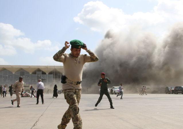 وقوع یک انفجار بزرگ در شهر عدن یمن