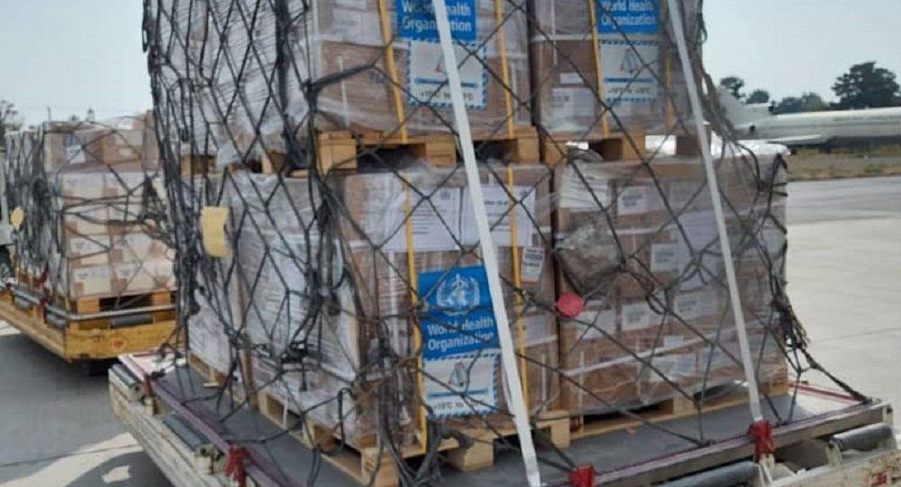 سازمان جهانی صحت: در بیش از دو ماه گذشته 186 تُن اقلام صحی به افغانستان رسیده است