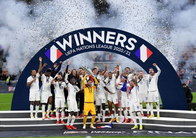 قهرمانی فرانسه در لیگ ملت های اروپا