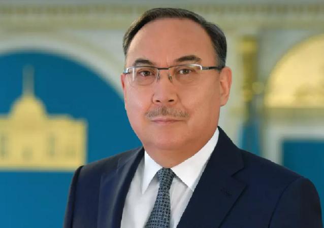 Спецпредставитель президента Казахстана