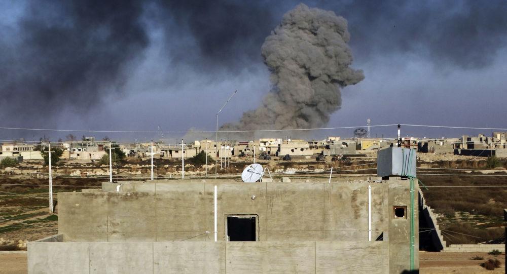 حمله راکتی در عراق