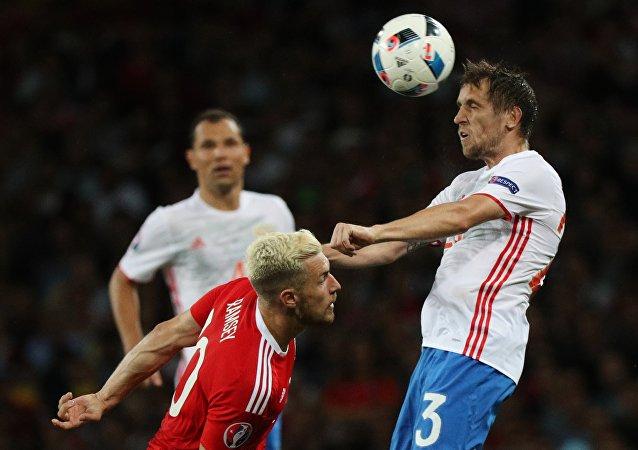 Football. European Championship - 2016 match Russia - Wales