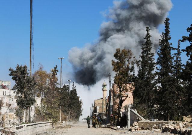 کشته شدن شش پیکار جوی ارتش آزاد سوریه در انفجار یک موتر بمب گذاری شده