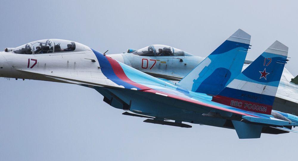 رهگیری طیاره استراتیژیک امریکا ازسوی جنگنده روسی