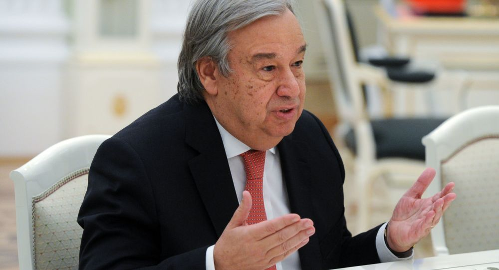 صحبت دبیرکل سازمان ملل در مورد کمکهای بشردوستانه به افغانستان