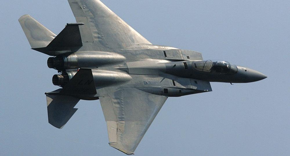 سقوط یک جنگنده آمریکایی در دریای شمال