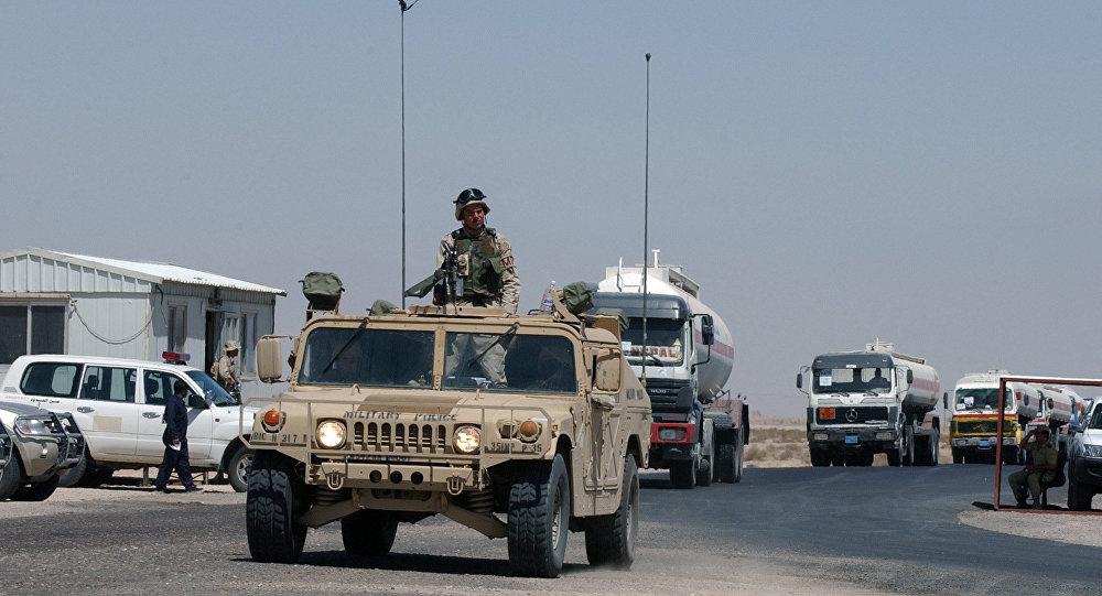 حمله به کاروان امریکایی در عراق