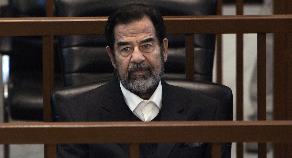 شطرنج  سرقت شده صدام حسین پیدا شد +عکس