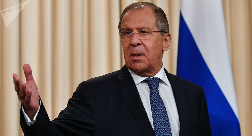 سرگی لاوروف وزیر خارجه روسیه