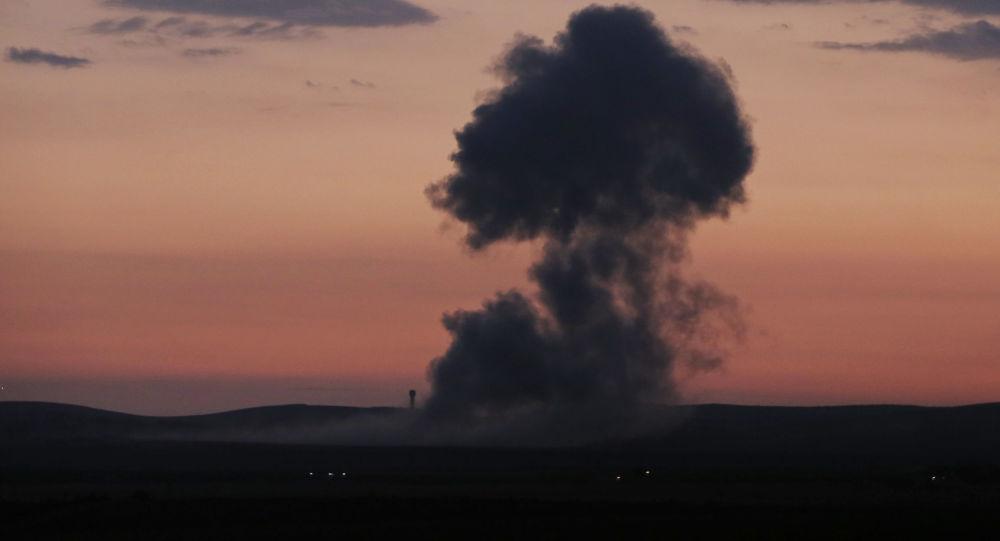 حملات هوایی آمریکا در مرز های عراق و سوریه علیه شبه نظامیان طرفدار ایران