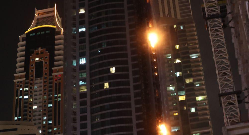 انفجار مهیب دبی را تکان داد+ویدیو