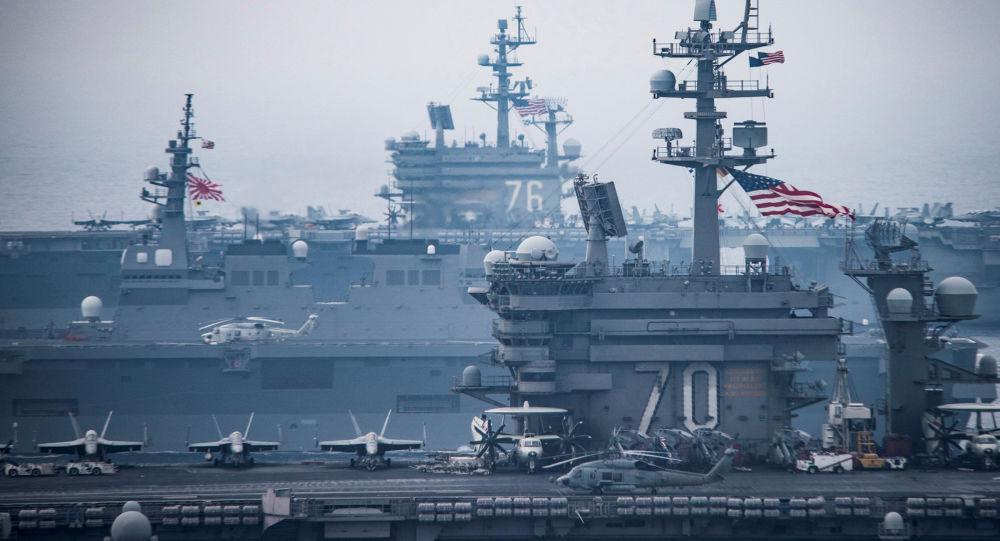 کشتی ترانسپورتی نیروی دریایی امریکا عازم دریای سیاه میشود