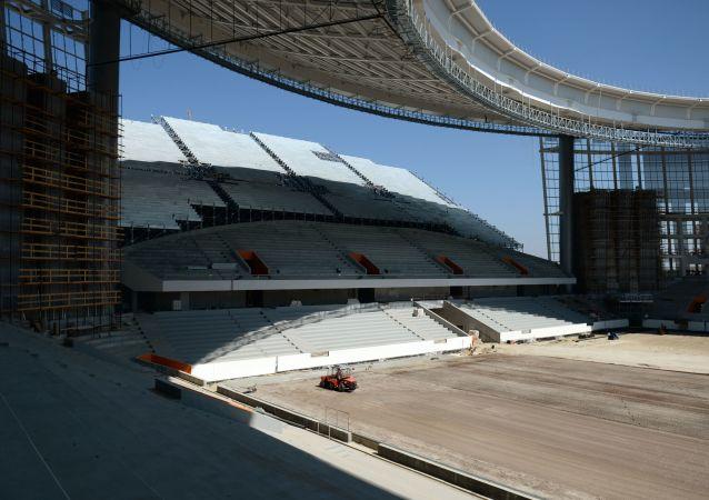 کار اعمار ورزشگاه ولگاگراد در روسیه تا ختم سال 2017 تکمیل میشود