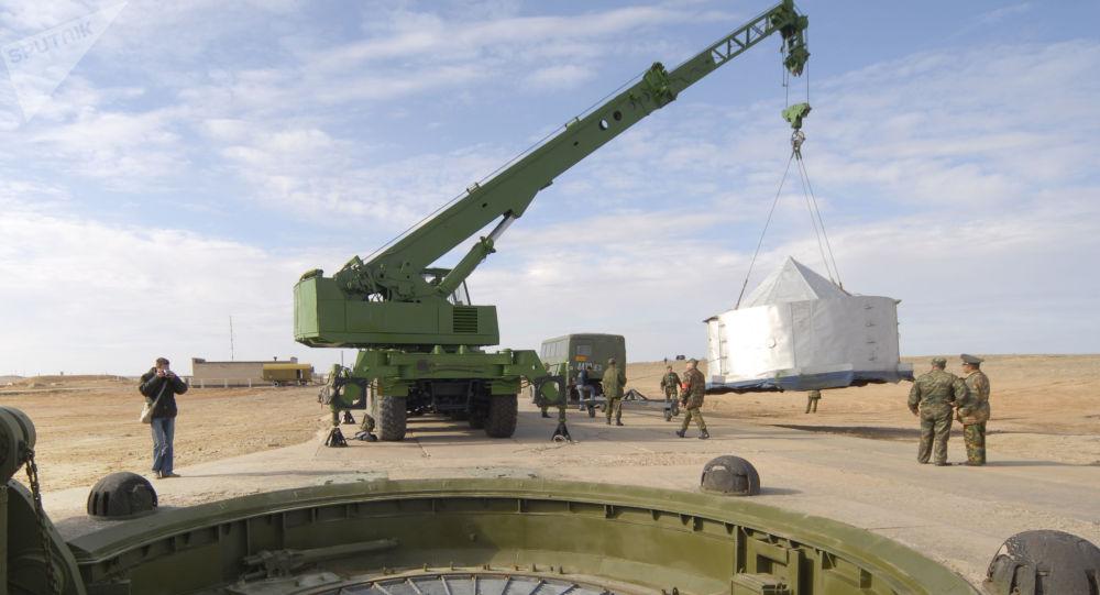 آزمایش راکت جدید بالستیک قاره پیما در سال ۲۰۱۷ توسط روسیه