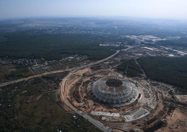 استدیوم «سامارا» آمادۀ جام جهانی میشود