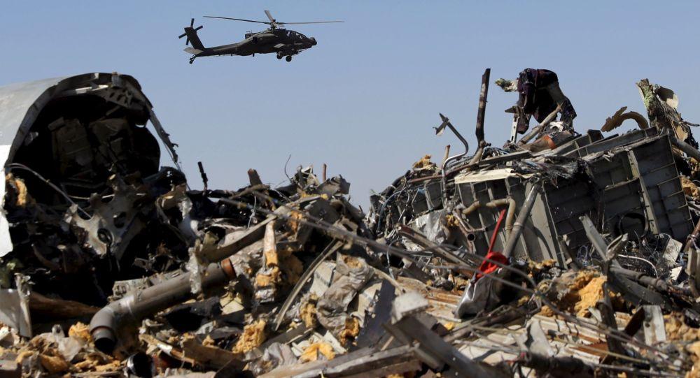 سقوط یک هلیکوپتر با سربازان امریکایی در مصر+عکس