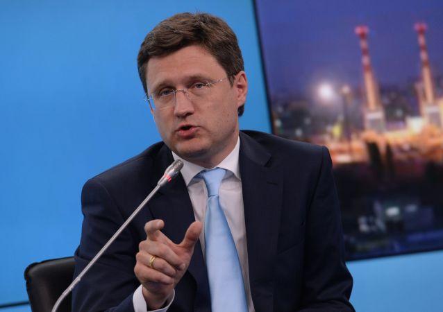 الکساندر نواک وزیر انرژی روسیه