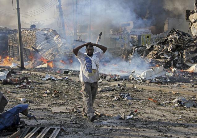 انفجار مهیب پایتخت سومالیا را تکان داد