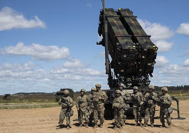 استقرار سیستم دفاع هوایی پاتریوت در عراق