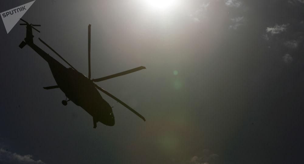 سقوط یک هلیکوپتر در عراق و کشته شدن 5 سرنشین آن