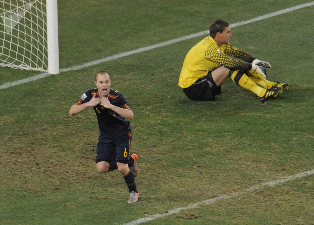 اسپانیا – برنده جام جهانی ۲۰۱۰