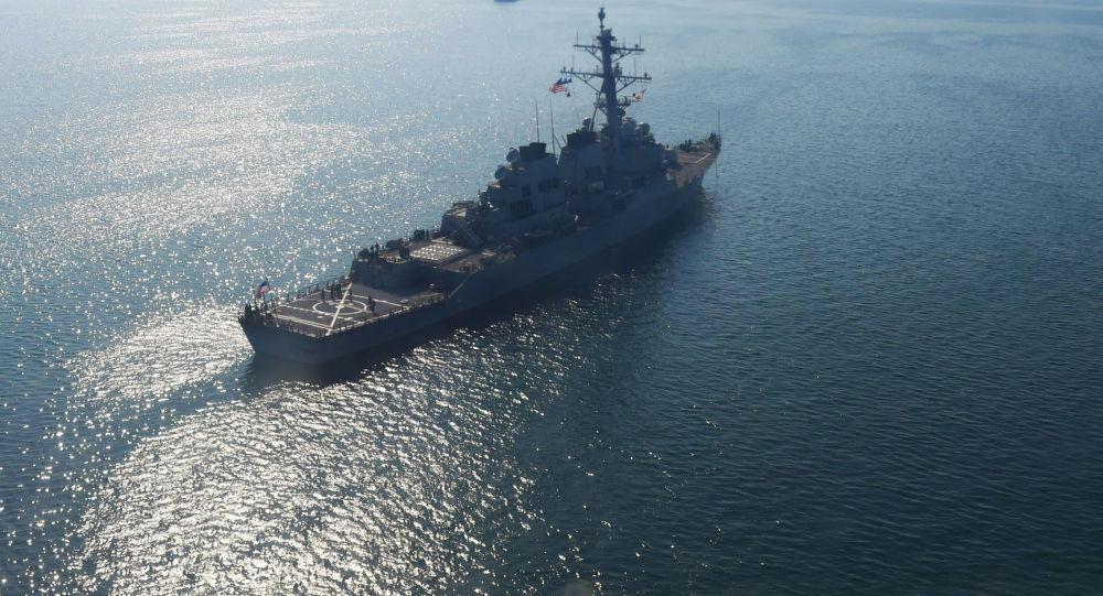 ورود دو کشتی جنگ ناتو به دریای سیاه