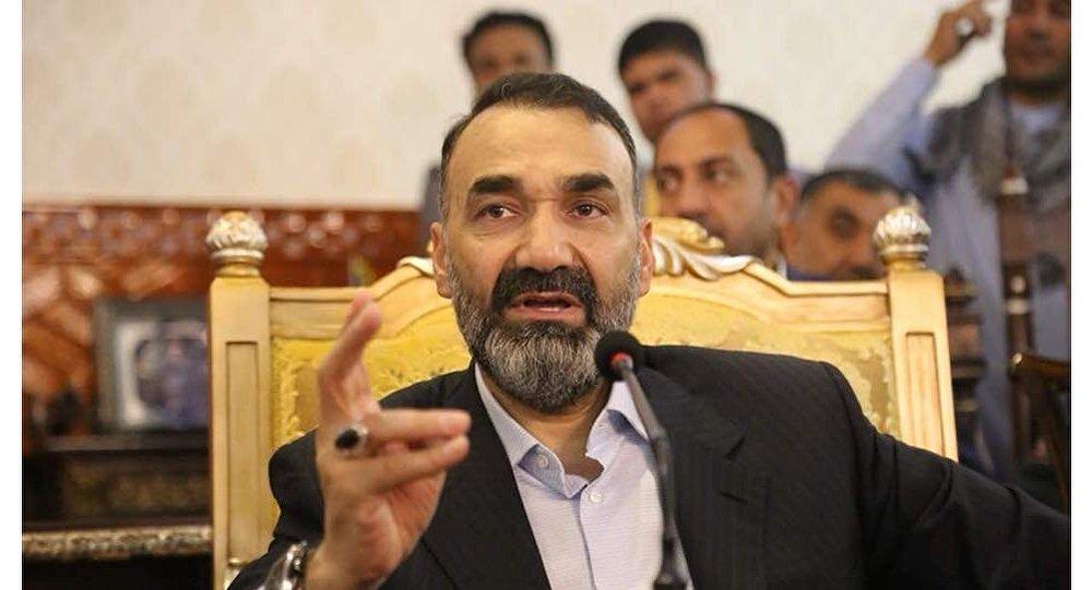 عطا محمد نور، رئیس اجرایی حزب جمعیت اسلامی افغانستان