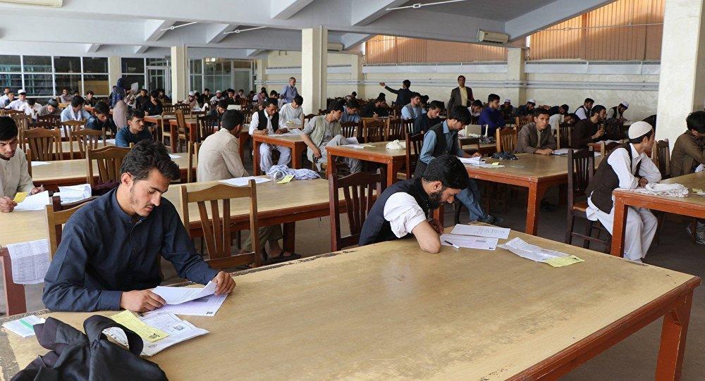 کانکور راهیابی به دانشگاه در افغانستان