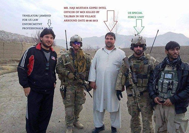 Translator Jamshid, Mr. Haji Mustafa GDPSU INTEL officer of MOI, US Special Force unit