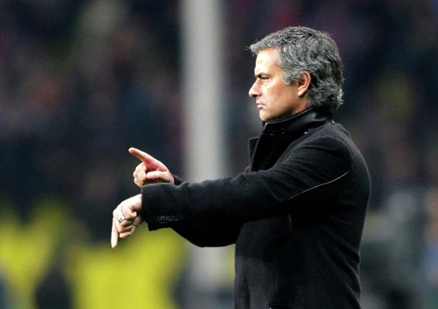 José Mourinho, el entrenador portugués