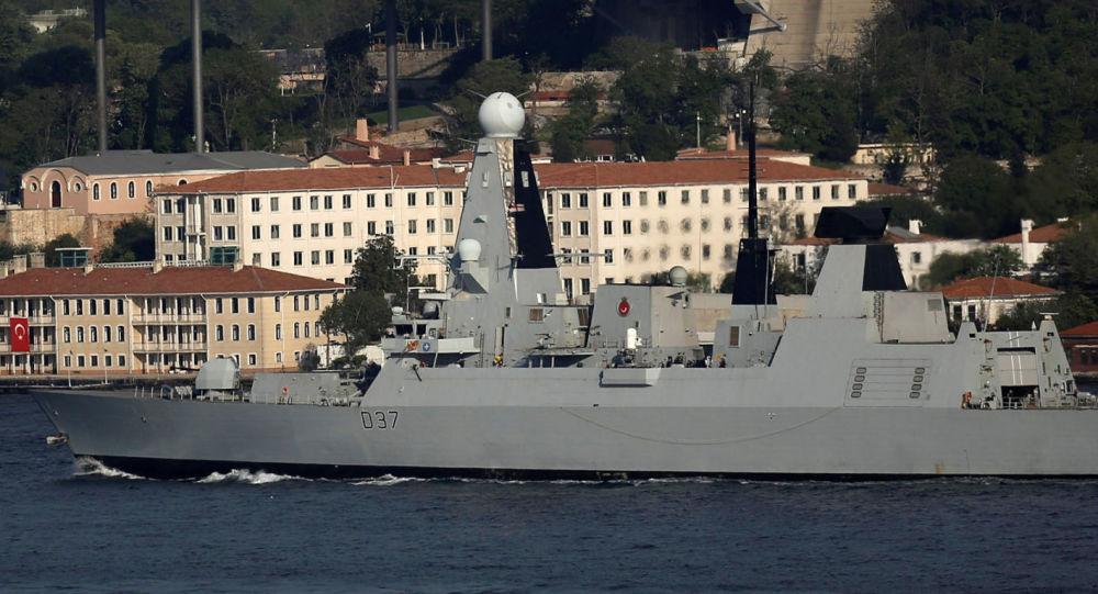 اعزام کشتی جنگی انگیس به خلیج فارس