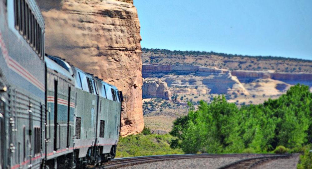 یک زن در امریکا در برابر چشم مسافران یک قطار مورد تجاوز قرار گرفت